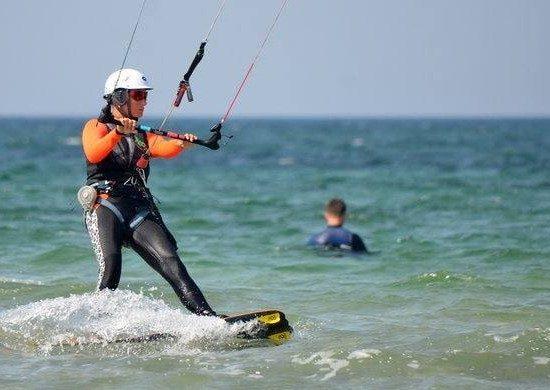 Кайтсерфинг в Крыму с Гагарин Kite