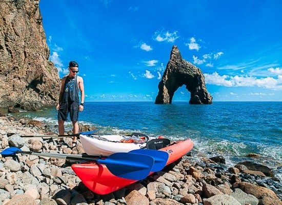Каякинг в Крыму с Blacksea Kayak