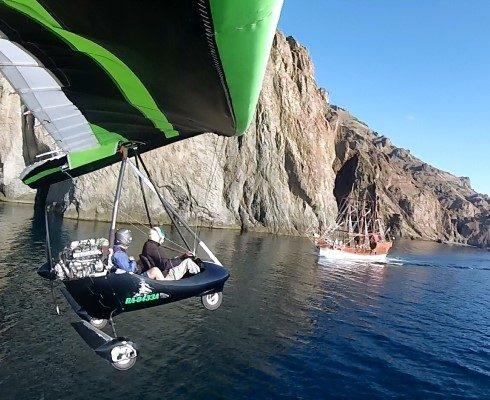 Полет на дельтаплане в Крыму