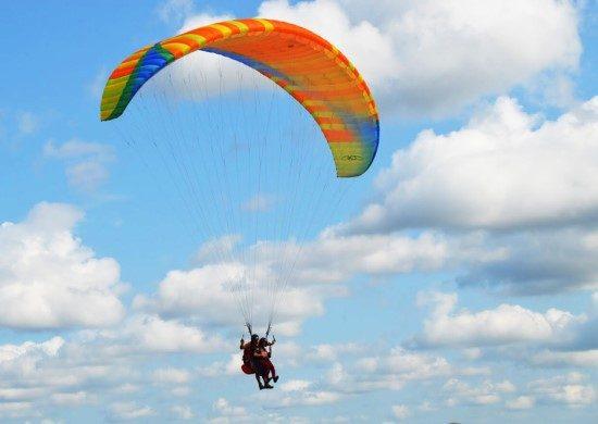 Полеты на параплане с YALTA парапланерный клуб