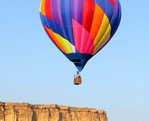 Полет на воздушном шар в Крыму