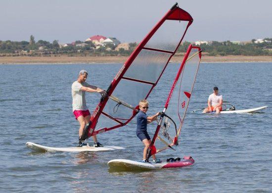 Виндсерфинг в Крыму с Wind-Extreme