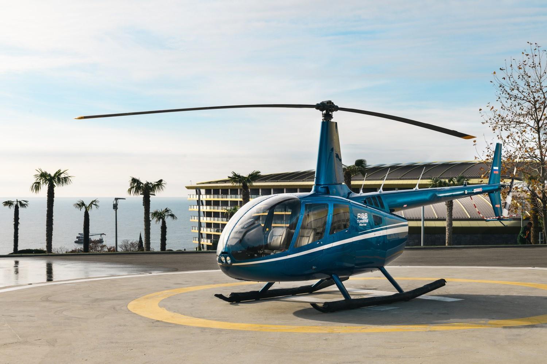 Аренда вертолета Robinson
