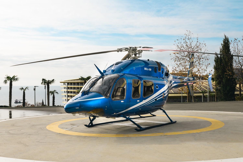 Аренда вертолета Bell-429